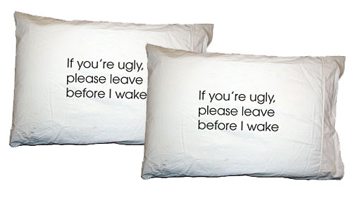 Please Leave Before I Wake Pillow Cases